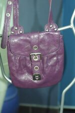 sac pochette cuir ESPRIT neuf violet