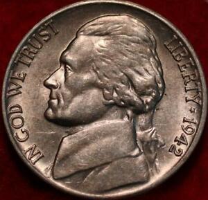 1942-D Denver Mint Jefferson Nickel Not Silver