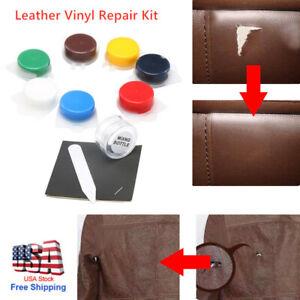 Leather Repair Kit Filler Vinyl DIY Car Seat Patch Sofa Rips Holes Professional