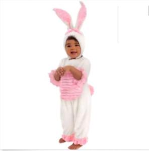 Bunny Rabbit INFANT BABY Girl Halloween Costume Size 6-12 Mons  Photo Prop