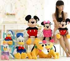 Mickey Minnie Mouse and Friends Clubhouse Plush Stuffed Toy Soft Doll Kids Gift