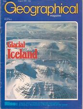 the geographical magazine-AUG 1983-GLACIAL ICELAND.