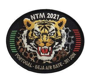 PORTUGUESE AIRFORCE 301 SQN F-16 NATO TIGER MEET 2021 BEJA PATCH