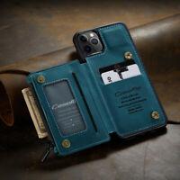 Luxus PU+TPU Handy Hülle Back Etuis Für Redmi Note 8 9S Pro Max Samsung A21S S20