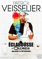 "DVD ""PATRICK VEISSELIER ECLABOUSSE L'OLYMPIA"" spectacle Neuf"
