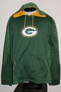 NEW NWT Green Bay PACKERS Mens 2XL XXL MAJESTIC hooded/Hoodie Sweatshirt