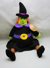 Sugar Loaf, plush stuffed Halloween Witch, 2013 Claw machine prize