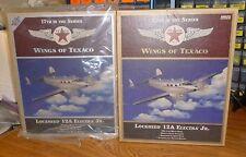 BRUSHED METAL & REGULAR EDITION Wings Of TEXACO LOCKHEED SIRIUS 12A ELECTRA JR.