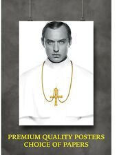 More details for the young pope jude law large poster art print gift a0 a1 a2 a3 maxi