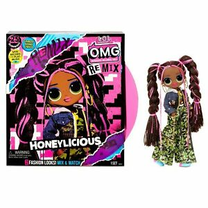 LOL Surprise OMG REMIX HONEYLICIOUS FASHION DOLL WITH MUSIC OVERNIGHT CHRISTMAS