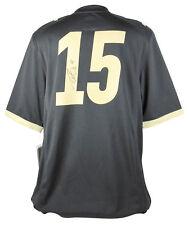 Purdue Drew Brees Authentic Signed Black Nike Jersey Fanatics Hologram #FA003099