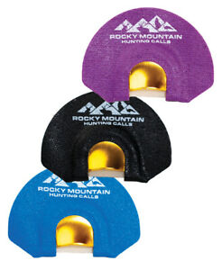 Rocky Mountain Golden Tone Plate Diaphragm Calls 3 Pack