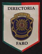 Fanion imprimé ~ ( galhardete ) ♦ Directoria Policia Judiciaria Faro (Portugal)