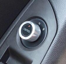 Opel Mokka Insingia Astra J Chrom Abdeckung für Spigel Regler Button Cover