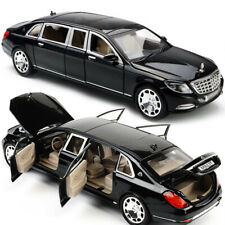 1:24 Diecast Model Car Toy Mercedes Maybach S600 Limousine New in Box Black Gift