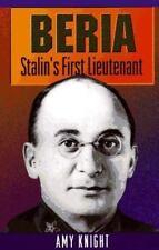 Beria Stalin's Lieutenant Bolshevik Communist Russia Soviet Union Political HC
