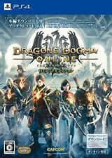 New PS4 Dragons Dogma Online Limited Edition Japan Import