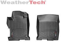 WeatherTech FloorLiner Mats for Honda Accord 2013-2017 - 1st Row - Black