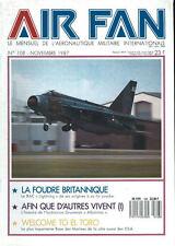 AIR FAN 108 GRUMMAN ALBATROSS USCG USN USAF / RAF EE LIGHTNING / RED ARROWS 1987