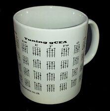 Ukulele Ukelele Chord Mug NEW Ideal Gift UK only