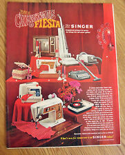 1967 Singer Sewing Machine Ad  Tiny Touch Zig-Zag Golden Touch & Sew