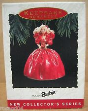 1993 Happy Holidays Barbie Doll Hallmark Keepsake Ornament Handcrafted/Sculpted