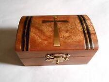 Tapered Cross  Rosary Box