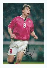 JON TOMASSON DENMARK INT 1997-2010 ORIGINAL HAND SIGNED LARGE PHOTOGRAPH