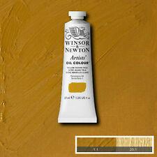 WINSOR & NEWTON Artist Oil Color Paint Tube 37ml, Yellow Ochre Pale 1214746