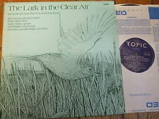 12TS230 The Lark In The Clear Air Irish Traditional Music Topic LP