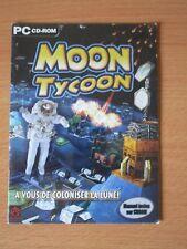 JEUX VIDEO MOON TYCOON PC CD-ROM WINDOWS