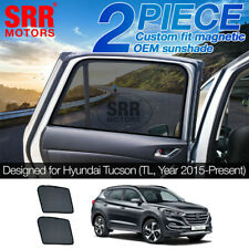 Custom Magnetic Sun Shade Rear Door Side Car Window Hyundai Tucson TL 2015-2019
