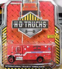 Green Light H-D Trucks International DuraStar Ambulance Fire Dept. of Memphis