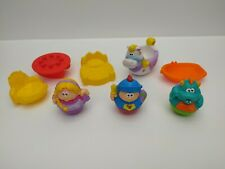 Weebles 2005 Playskool Weebalot Castle Accessories Only - Pre-Owned