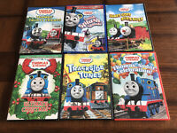 Thomas The Tank Engine Lot of 6 DVD's - HiT Entertainment - Anchor Bay - Used