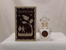 Vintage Guerlain L' Heure Bleue Baccarat Perfume Bottle - 1fl oz Empty with box