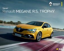 2019 MY Renault Sport Megane R.S. Trophy 09 / 2017 catalogue brochure Austria