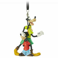 DISNEY GOOFY & MAX SKETCHBOOK CHRISTMAS ORNAMENT NEW WITH TAG AUTH 2019
