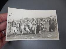 Gypsy Party Baildon ShipleyYorkshire 1929 photographic POSTCARD authentic  i