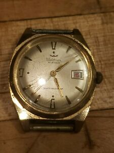 Vintage 1970s Waltham Men's Watch - France Lorsa P75 Movement