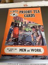 More details for men at work / bridges i spy priory tea card set superb adhered by photo corners