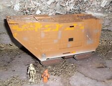 STAR WARS ACTION FLEET SERIES JAWA SANDCRAWLER  W/  2 MINI FIGURES