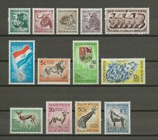 More details for south africa 1961 sg 185/97 mnh cat £22