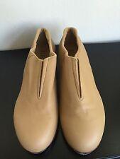 Bloch Tap Shoes Flex Split Sole Slip On Tan Beige Size 12