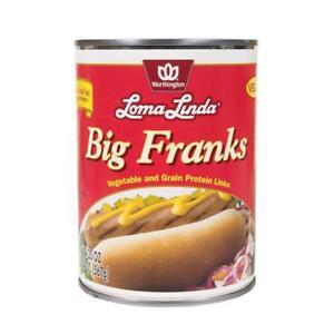 Loma Linda - Vegan - Big Franks (20 oz.)  (3 Pack) – Kosher