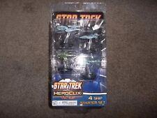 Neca Wizkids Star Trek Heroclix Tactics 4 Ship Starter Set