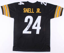 Benny Snell Signed Steelers Custom Jersey Size XL JSA and Snell Hologram