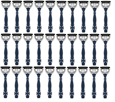 Schick Xtreme3 Ultimate Glide DIsposables, Dark Blue, 30 Razors - BULK