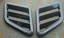 FOCUS RS MK3 LATEST STYLE CARBON EFFECT BONNET VENTS, FITS RENAULT MEGAN RS/WRC