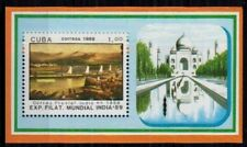 1989 MNH MS, Taj Mahal, Architecture, Stamp Exhibition in India